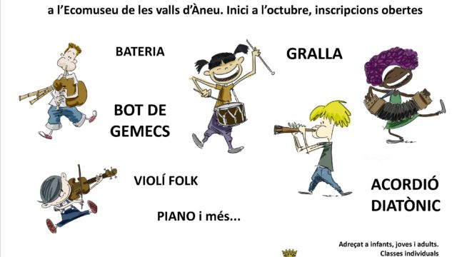 Escola Folk del Pirineu. Inscripcions Obertes